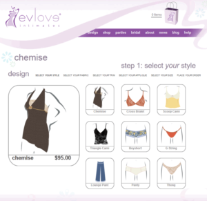 Evlove lingerie and loungewear